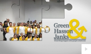Green Hasson Janks Company e-card thumbnail