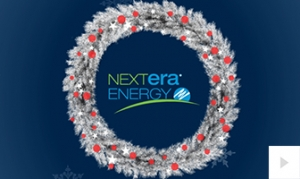 Nextera Energy Holiday Company e-card thumbnail
