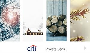 Citi Private Bank Holiday Company e-card thumbnail