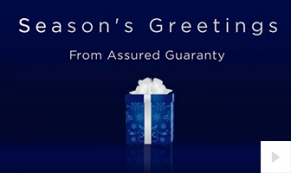 Assured Guaranty Holiday Company e-card thumbnail