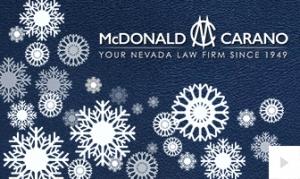 McDonald Carano Company Holiday e-card thumbnail