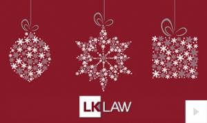 LK Law Company Holiday e-card thumbnail