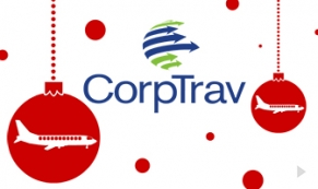 CorpTrav Company Holiday e-card thumbnail