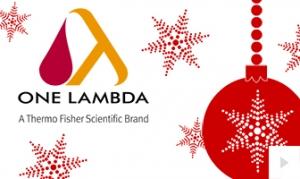 Thermo Fisher Company Holiday e-card thumbnail
