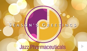 Jazz Pharmaceuticals Company Holiday e-card thumbnail