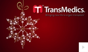 TransMedics Company Holiday e-card thumbnail