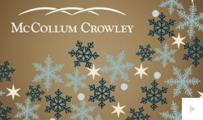 McCollum-Crowley Company Holiday e-card thumbnail