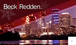 Beck Redden Company Holiday e-card thumbnail