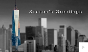 Colourful Landmarks Holiday e-card thumbnail
