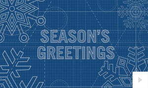 blueprint greetings christmas holiday e-card thumbnail