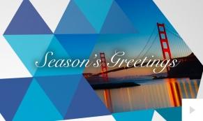 Geometric Greetings corporate holiday ecard thumbnail