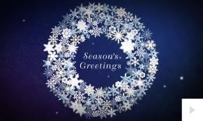 Crystal Creations corporate holiday ecard thumbnail