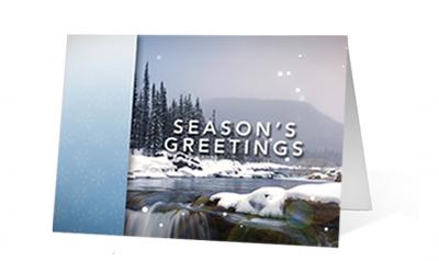 Holiday Moments Christmas Print Card