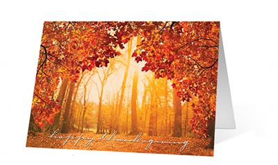 Thankful Moment Print Christmas Card