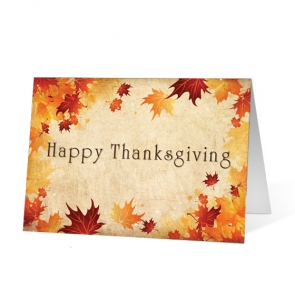 Happy Thanksgiving Wishes Greeting Card