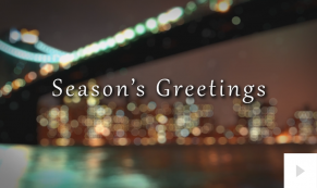 Night lights corporate holiday ecard thumbnail