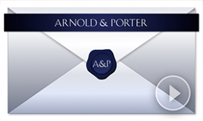 vivid greeting envelope custom holiday thumbnail arnold & porter