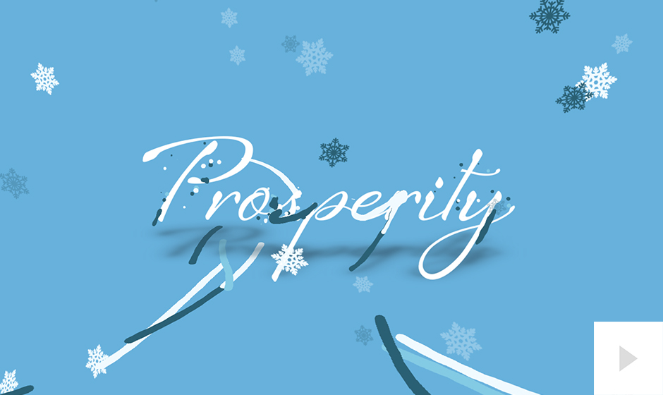 Sprightly Sentiments Blue Version