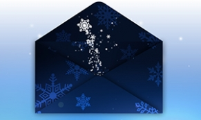 holiday ecard Envelope Evolve thumbnail
