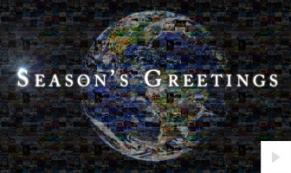 18. Mosaic corporate holiday ecard thumbnail