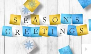 PostItNotes corporate holiday ecard thumbnail