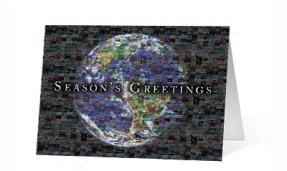 18. Mosaic corporate holiday print thumbnail